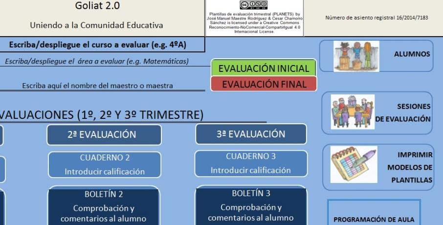 programación aula